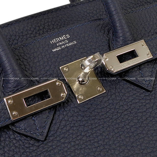 9e264931ecc9 HERMES Hermes handbag Birkin 25 ブルーニュイトゴシルバー metal fittings new article (HERMES  handbags Birkin25 Bleu Nuit Togo SHW Brand New  Authentic )  よ ...