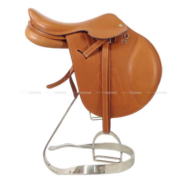 HERMES エルメス オブジェ ミニチュア サドル 鞍 メタルスタンド付き フォーヴ バレニア 新品未使用 (HERMES object Miniature Horse saddle Fauve Barenia [Never Used][Authentic]) 【キャッシュレスポイント還元★】HERMES エルメス オブジェ ミニチュア サドル 鞍 メタルスタンド付き フォーヴ バレニア 新品未使用 (HERMES object Miniature Horse saddle Fauve Bareni