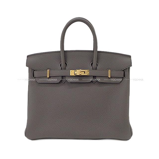 【ご褒美に★】HERMES エルメス ハンドバッグ バーキン25 エタン トゴ ゴールド金具 新品 (HERMES Handbag Birkin25 Etain Togo GHW[Brand new][Authentic])【あす楽対応】#yochika