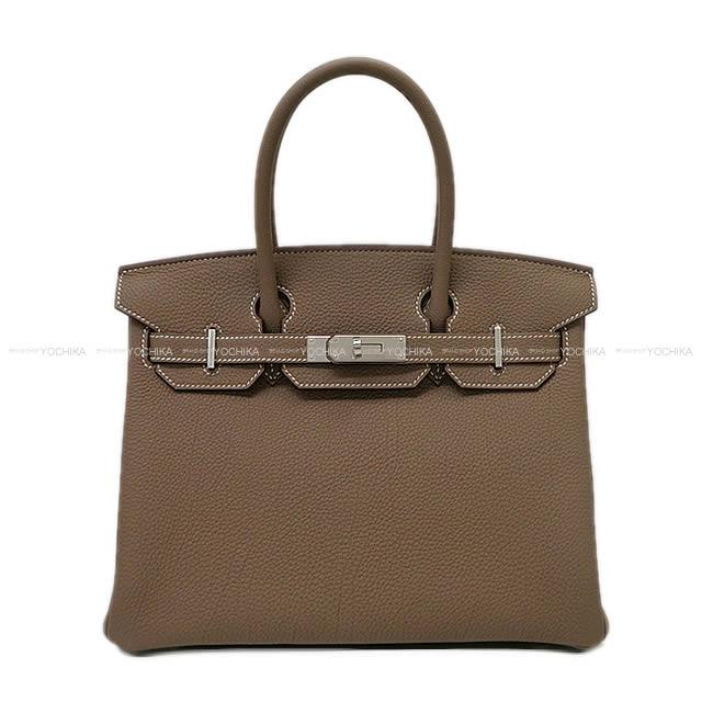 【自分へのご褒美★】HERMES エルメス ハンドバッグ バーキン30 エトープ (エトゥープ) トゴ シルバー金具 新品 (HERMES Handbag Birkin30 Etoupe Togo SHW[Brand new][Authentic])【あす楽対応】#よちか
