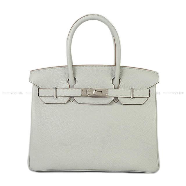 【ご褒美に★】HERMES エルメス ハンドバッグ バーキン30 グリスパール(パールグレー) トリヨン シルバー金具 新品 (HERMES Handbags Birkin 30 Gris Perle Taurillon Clemence SHW[Brand New][Authentic])【あす楽対応】#よちか