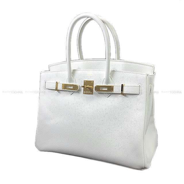 HERMES Hermes Birkin 30 handbag white white Epson gold metal fittings new  article-free (HERMES handbags Birkin30 Blanc(White) Epsom GHW Never ... e1317e8118661