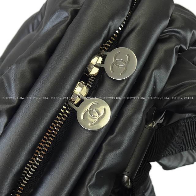 1c34dc25ecb8 ... CHANEL Chanel do dough nubuck pack rucksack Small black emboss nylon  A91933 new article (2017AW ...