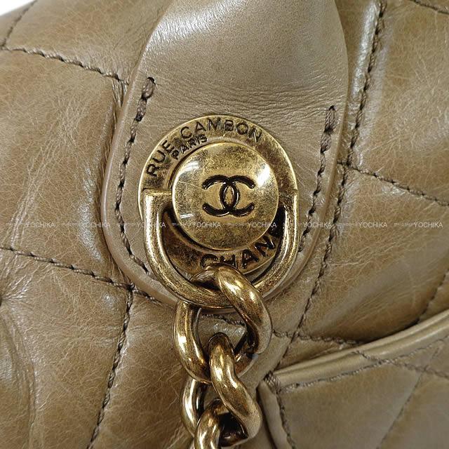 7f26f5d627e536 As well as matelasse 2Way バッグトープベージュカーフ A67800 new article ([Pre Loved] 2015  CHANEL Coco Handle 2Way Chain HandBag Beige Carf)# よちか with ...