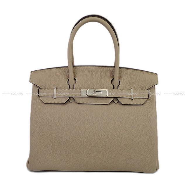 【新生活ギフトに★】HERMES エルメス ハンドバッグ バーキン30 トゥルティールグレー トゴ シルバー金具 新品 (HERMES Handbag Birkin30 Gris tourterelle Togo SHW[Brand new][Authentic])【あす楽対応】#よちか