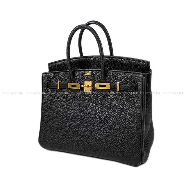 HERMES Hermes handbag Birkin 25 black (black) トゴゴールド metal fittings SA rank  ( Pre-loved HERMES Handbag Birkin 25 Noir(Black) Togo GHW USED SA  ... 46c37b5e9