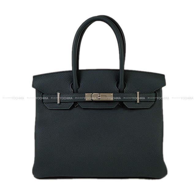 【新生活ギフトに★】HERMES エルメス ハンドバッグ バーキン30 ヴェールシプレ(サイプレス) トゴ シルバー金具 新品 (HERMES Handbags Birkin 30 Vert cypres Togo SHW[Brand New][Authentic])【あす楽対応】#よちか
