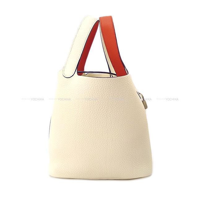 日本初の 【ご褒美に★】HERMES エルメス ハンドバッグ Taurillon ピコタンロック エクラ 22 Handbag MM Nata/Terre ナタ/テールバテュー トリヨン/スイフト 新品 (Hermes Handbag Picotin Lock Eclat 22 MM Nata/Terre Battue Taurillon Clemence/Swift[Brand new][Authentic])【】#yochika, 質屋さのや:48a06fc8 --- paginanueva.multiproposito.com