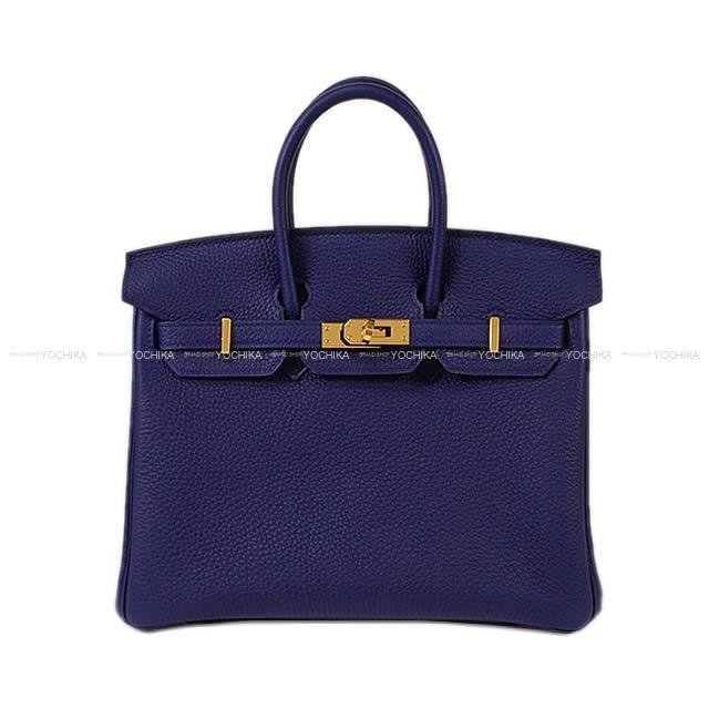 【冬のボーナスで!】HERMES エルメス ハンドバッグ バーキン25 ブルーアンクル(ブルーインク) トゴ ゴールド金具 新品 (HERMES Handbag Birkin 25 Blue encre Togo GHW[Brand new][Authentic])【あす楽対応】#よちか