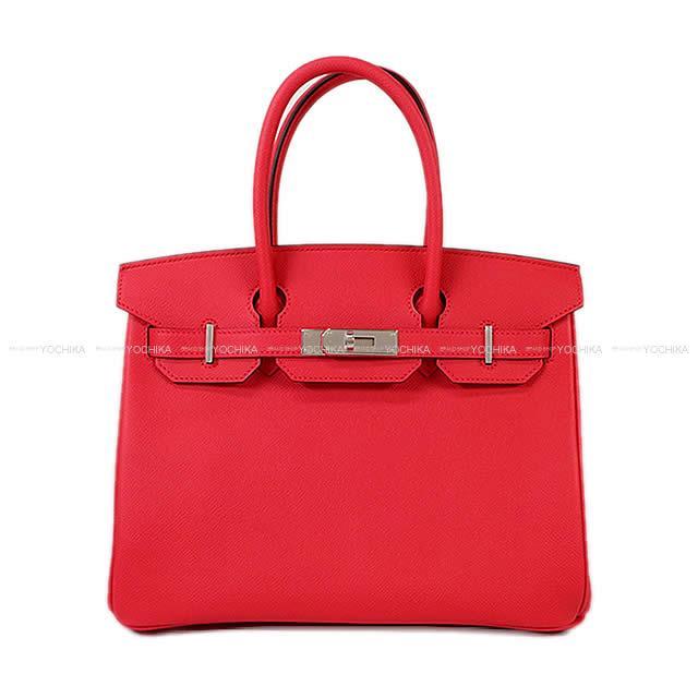 【父の日ギフト!】HERMES エルメス ハンドバッグ バーキン30 ローズエクストリーム(ローズエクストリーム) エプソン シルバー金具 新品 (HERMES Handbag Birkin30 Rose extreme Epsom SHW[Brand new][Authentic])【あす楽対応】#よちか
