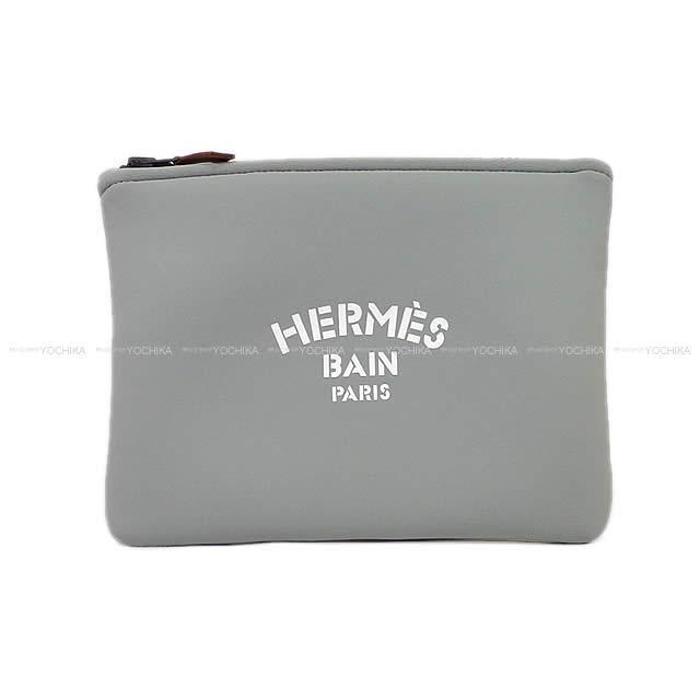 【卒業入園祝いに!】HERMES エルメス フラットポーチ