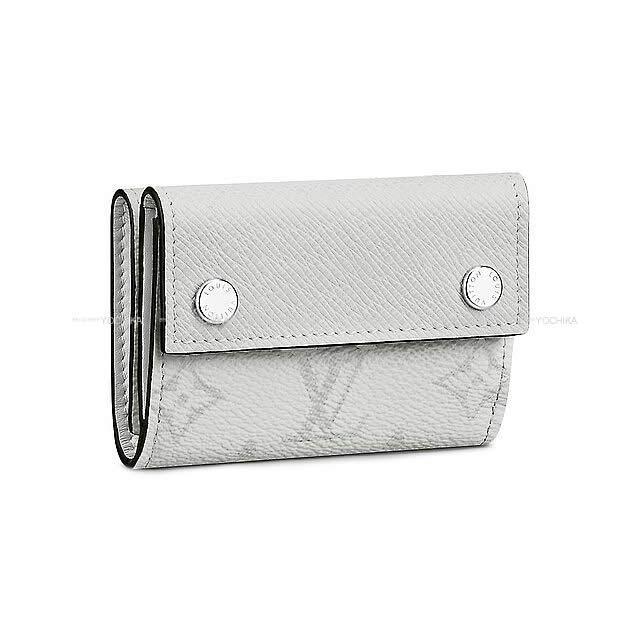 LOUIS VUITTON ルイ・ヴィトン 三つ折り ''ディスカバリー コンパクト ウォレット'' ブロン(白) モノグラム/タイガ シルバー金具 M67621 新品 (wallet ''Discovery Compact'' White ) 2019年 春夏 新作 LOUIS VUITTON ルイ・ヴィトン 三つ折り ''ディスカバリー コンパクト ウォレット'' ブロン(白) モノグラム/タイガ シルバー金具 M67621 新品 (wallet ''Discovery Compact'' Whi