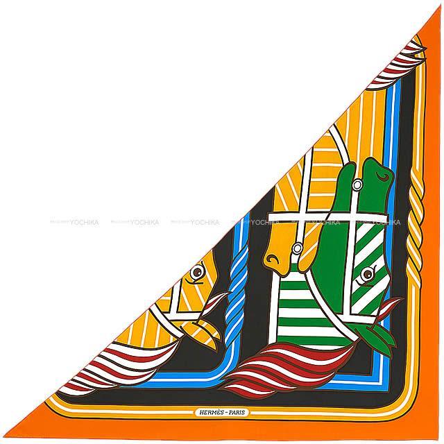 【値下げ!】 HERMES エルメス スカーフ トライアングル ジェアン 三角カレ