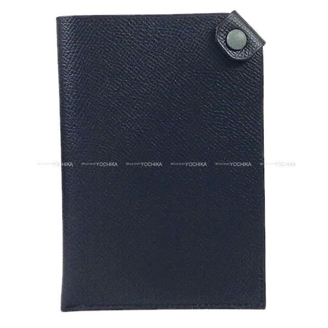 【キャッシュレスポイント還元★】HERMES エルメス パスポートケース タルマック ドット ブルーインディゴXヴェールアマンド エプソン 新品 (HERMES Passport Case Tarmac Dot Bleu indigo/Vert amande Epsom[Brand new][Authentic])【あす楽対応】#よちか