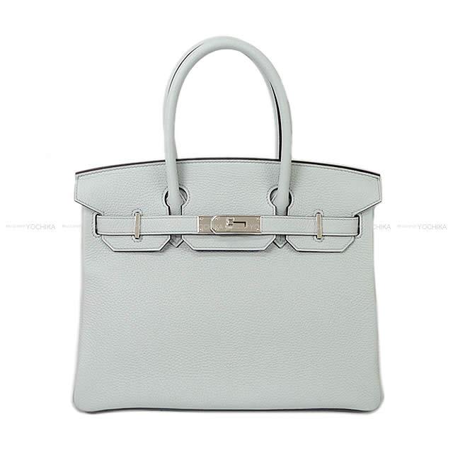 1c15a24f7754 HERMES Hermes handbag Birkin 30 pale blue Tryon silver metal brand new ( HERMES Handbags Birkin30 Bleu Pale Taurillon Clemence SHW  Brand New