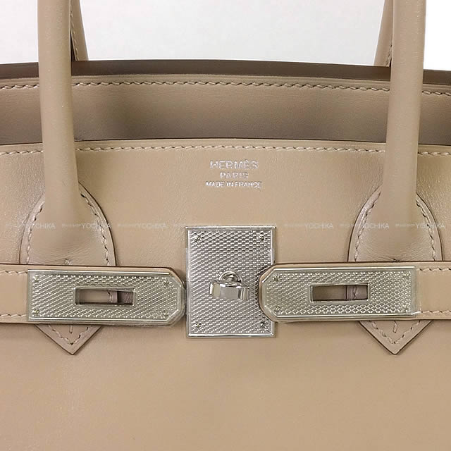 3a56bfd89b 30 HERMES HERMES Birkin ハンドバッグアルジルヴォータデラクトギロッシュシルバー metal fittings new  article (HERMES Handbags Birkin30 Argile Veau Tadelakt ...