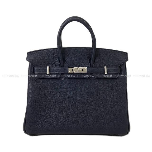 【夏のボーナスで☆】HERMES エルメス ハンドバッグ バーキン25 ブルーニュイ トゴ シルバー金具 新品 (HERMES handbags Birkin25 Bleu Nuit Togo SHW[Brand New][Authentic])【あす楽対応】#よちか