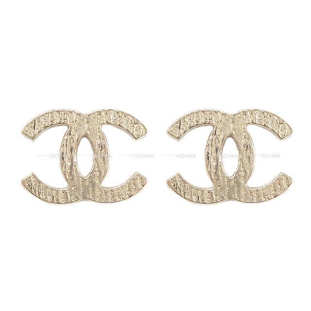 【夏のボーナスで☆】2019年 CHANEL シャネル ココマーク ピアス ゴールド AB2636 新品 (2019 CHANEL COCO mark Pierces Gold AB2636[Brand New][Authentic])【あす楽対応】#よちか