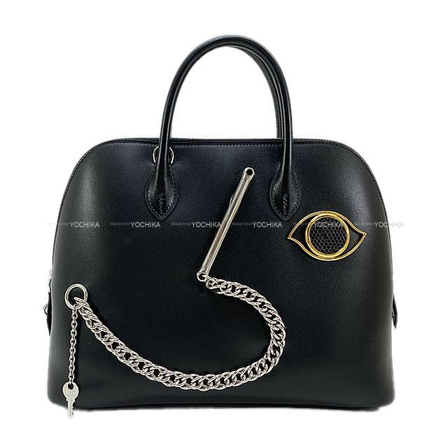 【夏のボーナスで☆】HERMES エルメス ハンドバッグ ボリード1923 30 スマイル 黒(ブラック) 新品 (HERMES Handbag Bolide 1923 30 Black(Noir) Wink, smile & Play)#よちか