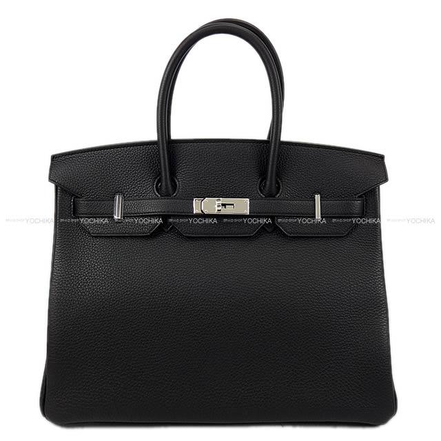 【夏のボーナスで☆】HERMES エルメス ハンドバッグ バーキン35 黒(ブラック) トゴ シルバー金具 新品 (HERMES Handbag Birkin 35 Black Togo SHW [Brand new][Authentic])【あす楽対応】#よちか