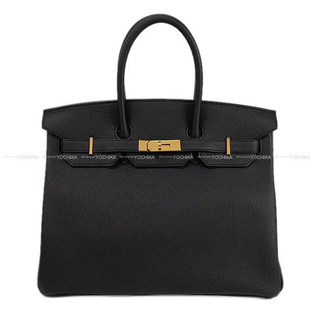 【父の日ギフト!】HERMES エルメス ハンドバッグ バーキン35 黒(ブラック) トゴ ゴールド金具 新品 (HERMES handbag Birkin 35 Black(Noir) Togo GHW[Brand New][Authentic])【あす楽対応】#よちか
