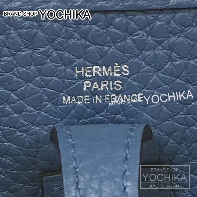 a783859d5ef7 ... Hermes shoulder bag mini-Ebb phosphorus Evelyn 16 TPM アマゾンブルーアガット X Cui  ...