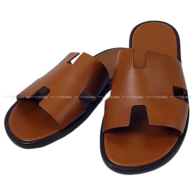 e98683b1f3f3 HERMES Hermes men leather sole sandals