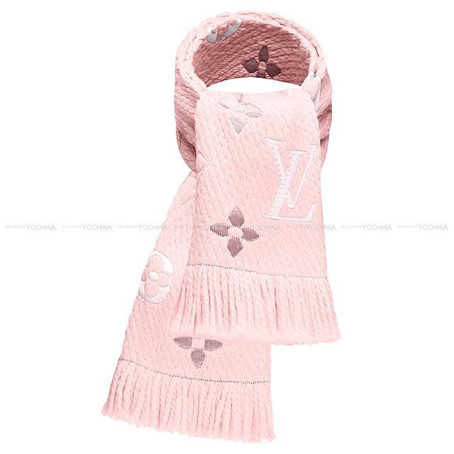 d034f0abce54e LOUIS VUITTON Louis Vuitton scarf echarp logo enthusiast rainbow crystal  pink M73057 new article