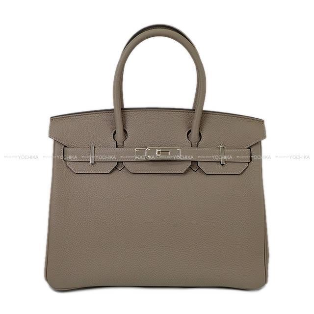 HERMES エルメス ハンドバッグ バーキン30 グリアスファルト トゴ シルバー金具 新品 (HERMES Handbags Birkin 30 Gris asphalt Togo SHW [Brand New][Authentic])【あす楽対応】#よちか
