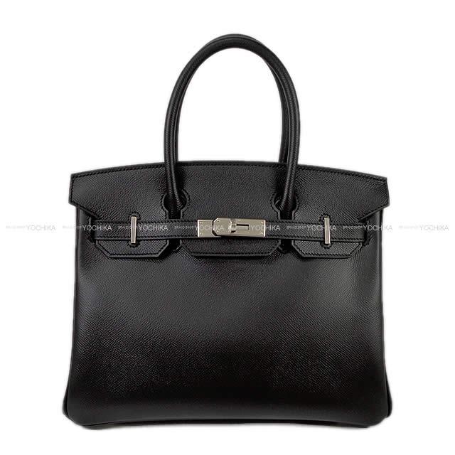 【冬のボーナスで!】HERMES エルメス バーキン30 ハンドバッグ 黒(ブラック) エプソン シルバー金具 新品 (HERMES handbags Birkin 30 Black(Noir) Epsom Silver Hardware[Brand New][Authentic])【あす楽対応】#よちか