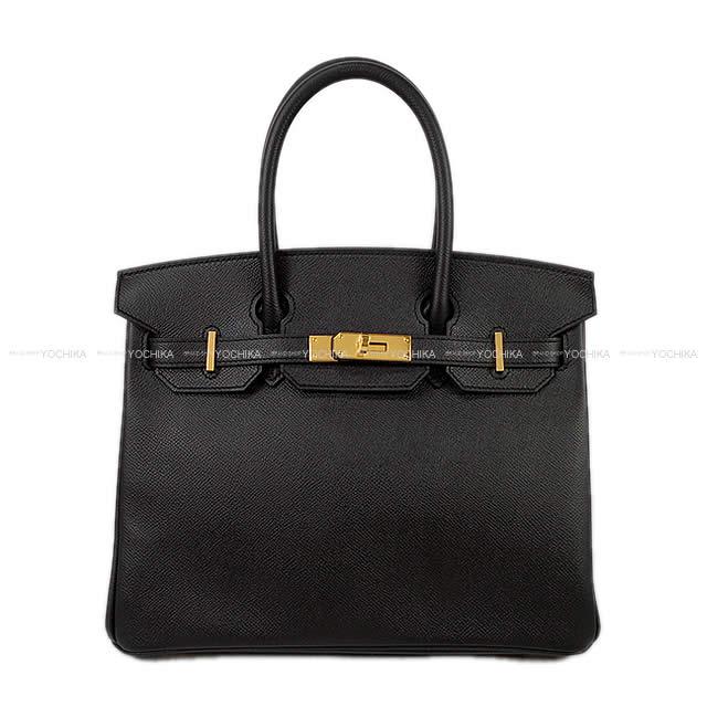 【冬のボーナスで!】HERMES エルメス ハンドバッグ バーキン30 黒(ブラック) エプソン ゴールド金具 新品 (HERMES handbags Birkin 30 Black(Noir) Epsom Gold Hardware[Brand New][Authentic])