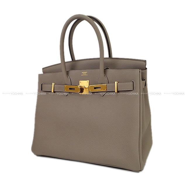 0323f1902df Autumn of 2017 winter new color HERMES Hermes handbag Birkin 30  グリアスファルトトゴゴールド metal fittings new article (HERMES Handbags Birkin 30 Gris  ...