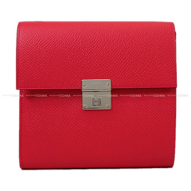 2d6a9f6949ec Rose extreme Epson silver metal fittings new article in the spring and  summer compact 2018 in three occasions belonging to latest HERMES Hermes  wallet