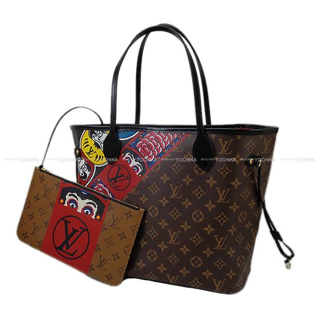 659912eb2e ... モノグラム reverse Kabuki Dharma doll M43499 new article with the 2018  Shinsaku Cruise LOUIS VUITTON Louis ヴィトントートバッグネヴァーフル MM porch