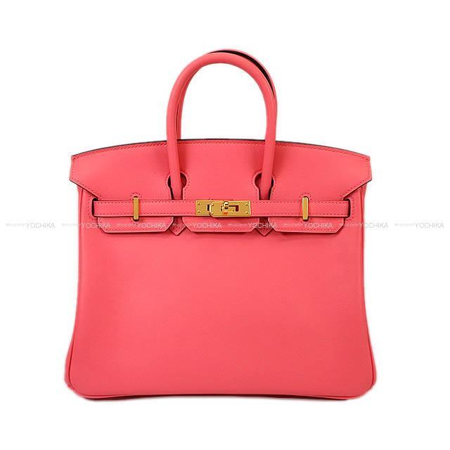 【ご褒美に★】HERMES エルメス ハンドバッグ バーキン25 ローズアザレ スイフト ゴールド金具 新品未使用 (HERMES Handbag Birkin 25 Rose Azalee Swift GHW[Never used][Authentic])【あす楽対応】#よちか