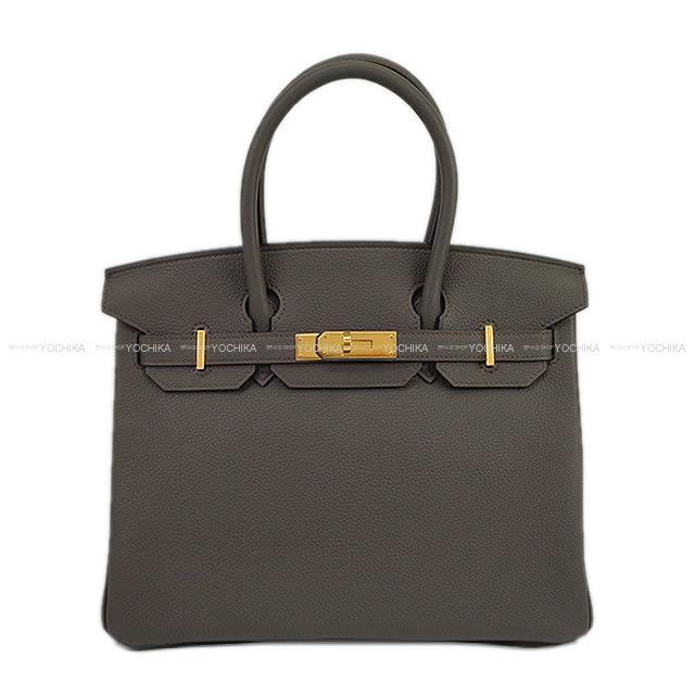 【夏のボーナスで☆】HERMES エルメス ハンドバッグ バーキン30 エタン トゴ ゴールド金具 新品 (HERMES Handbag Birkin 30 Etain Togo GHW[Brand new][Authentic])【あす楽対応】#よちか