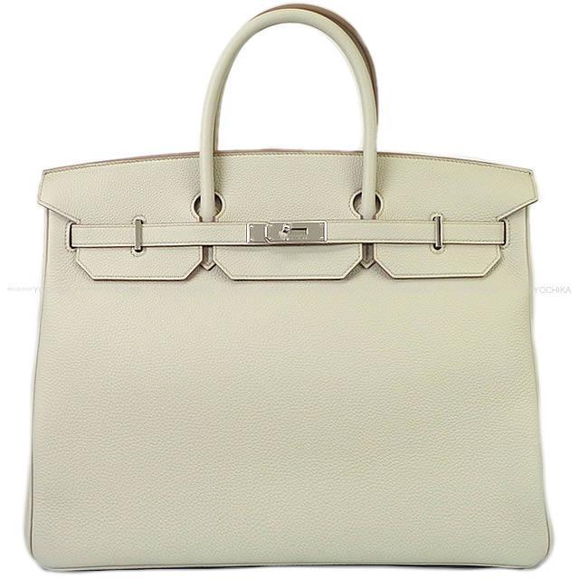 【冬のボーナスで!】HERMES エルメス ハンドバッグ バーキン40 ベトン トゴ シルバー金具 新品 (HERMES Handbags Birkin 40 Beton Togo SHW[Brand new][Authentic])【あす楽対応】#よちか