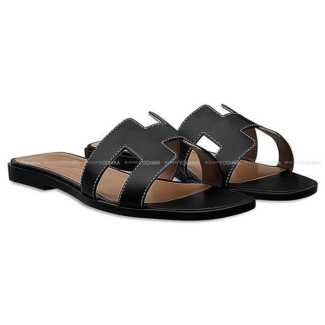 46dbc376805 HERMES Hermes Lady s H motif sandals