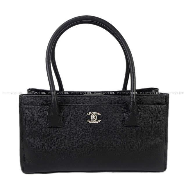 90a2e00cf862 As well as the Thoth shoulder bag black caviar skin silver metal fittings  A67282 new article [used] with the CHANEL Chanel executive line porch