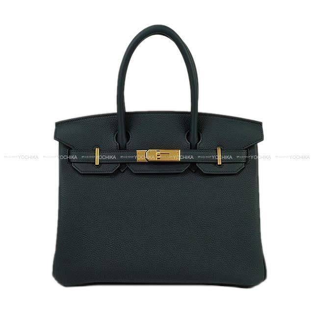【冬のボーナスで!】HERMES エルメス ハンドバッグ バーキン30 ヴェールシプレ(サイプレス) トゴ ゴールド金具 新品 (HERMES Handbags Birkin 30 Vert cypres Togo GHW[Brand New][Authentic])【あす楽対応】#よちか