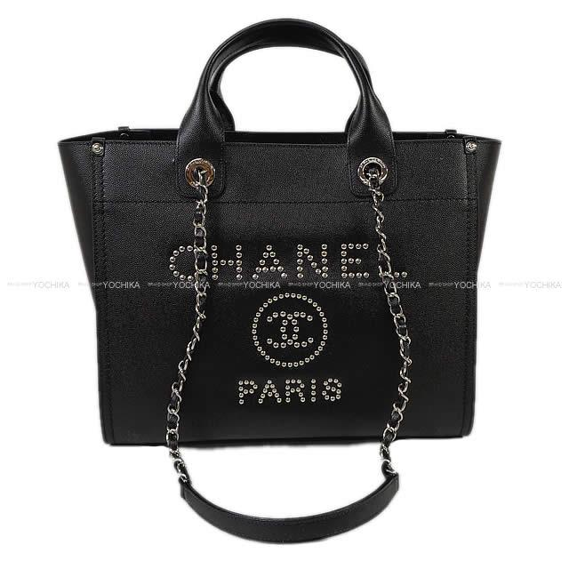 0fb668e5dbbe Cruise CHANEL Chanel Deauville shopping chain tote bag black goes wrong in  the summer in the spring of 2018, and Indian calfskin A57069 is new