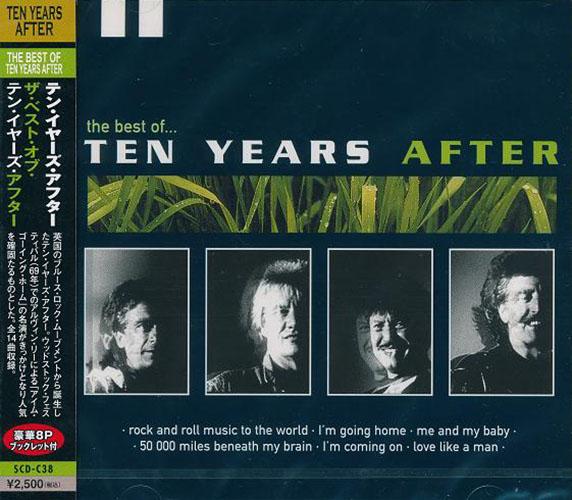 英国のブルース ロック ムーブメントから誕生したテン イヤーズ アフター テン THE 売店 TEN CD 捧呈 YEARS SCD-C38-KS BEST OF AFTER輸入盤
