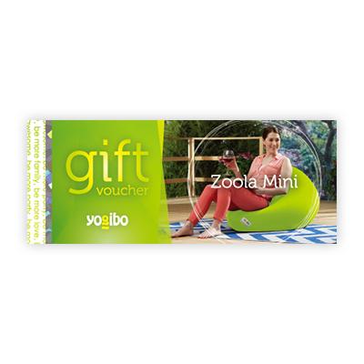 Yogibo Zoola Mini ギフト券 / ヨギボー【ビーズクッション プレゼント 贈り物 記念品】【分納の場合有り】
