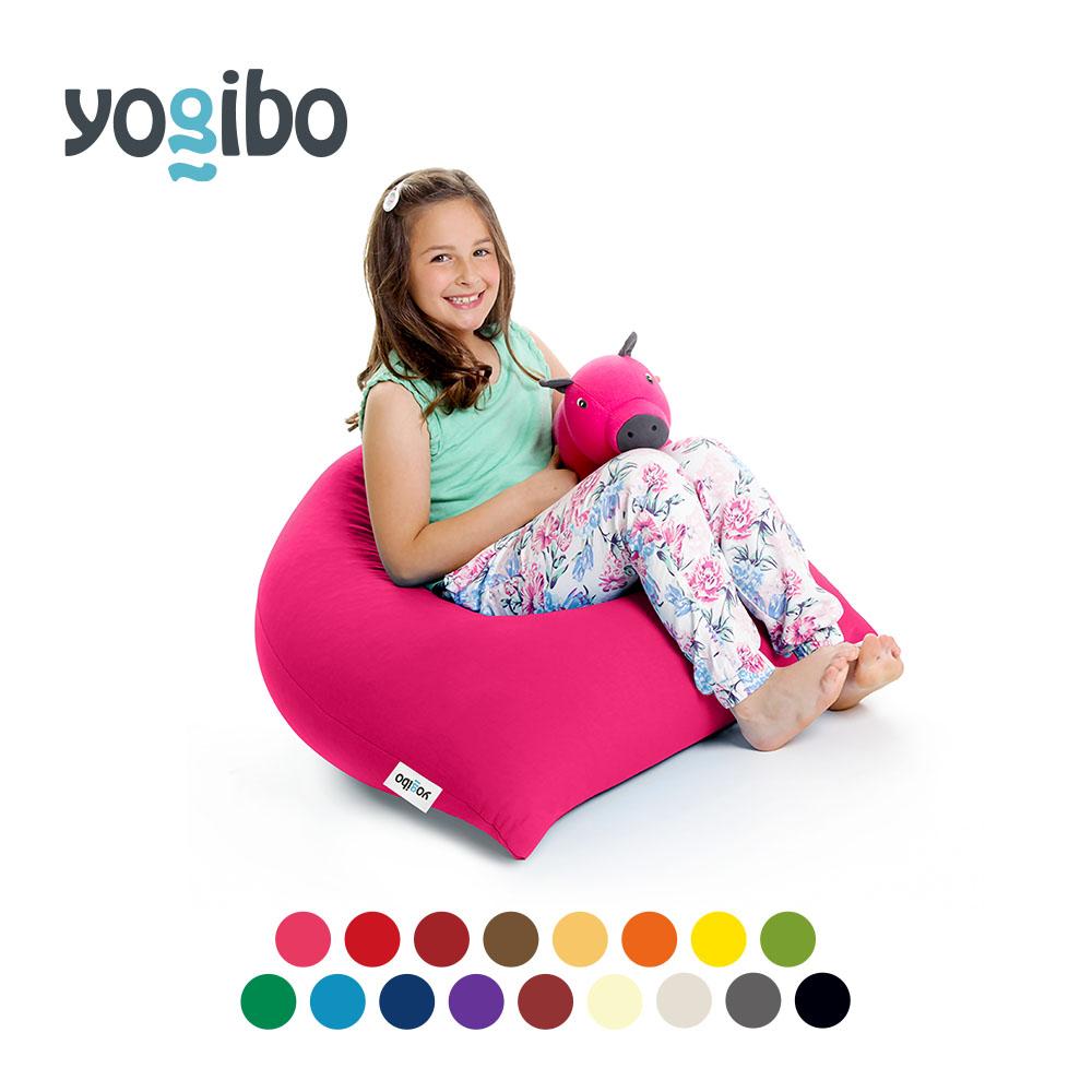大人でも十分に満足できる大きさ。子供にはハイバックソファー。 Yogibo Pyramid (ヨギボー ピラミッド) おしゃれ座椅子ビーズソファ 座椅子 ビーズクッション 小さい ローチェア フロアクッション 背もたれ