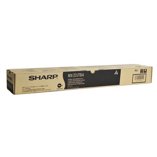 送料無料 SHARP 永遠の定番 国内純正品 トナーカートリッジ MX-27JTBA 日時指定 ブラック