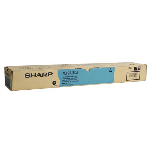 送料無料 SHARP 新登場 国内純正品 トナーカートリッジ シアン MX-27JTCA SALE開催中