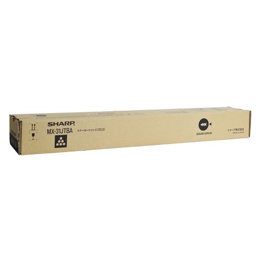お値打ち価格で 送料無料 (訳ありセール 格安) SHARP 国内純正品 MX-31JTBA ブラック トナーカートリッジ
