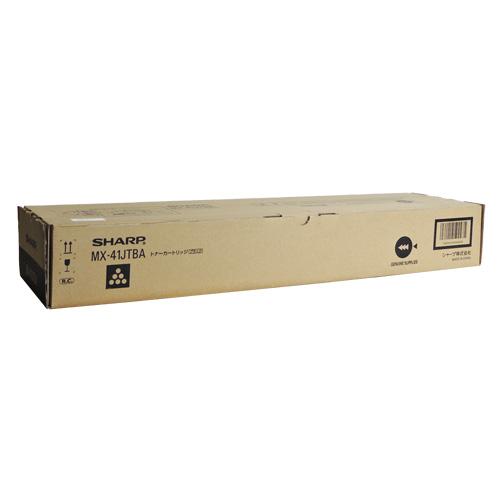 送料無料 SHARP 国内純正品 トナーカートリッジ 通信販売 ブラック MX-41JTBA 定価の67%OFF
