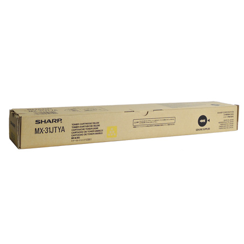 受注生産品 送料無料 SHARP アイテム勢ぞろい 国内純正品 イエロー MX-31JTYA トナーカートリッジ