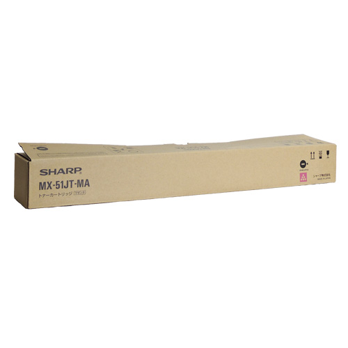 送料無料 SHARP 大特価 国内純正品 トナーカートリッジ MX-51JTMA マゼンタ アウトレット